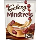 Galaxy Minstrels Chocolate Bag, 125g, (Packaging May Vary)