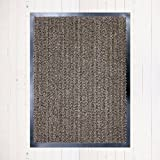 Barrier Mats - Heavy Duty, Non Slip Backing - 3 Colours- Indoor/Outdoor (Beige)