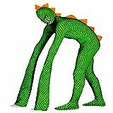 Amakando Kostüm Echse Second Skin Reptil L 52/54 Faschingskostüm Saurier Chamäleon ausgefallenes Faschingskostüm Alien Tierkostüm Erwachsene
