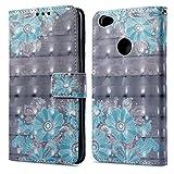 Ooboom® Xiaomi Redmi Note 5A Prime Case Wallet 3D Magnetic