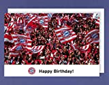 AvanCarte GmbH Bayern Geburtstag Karte Grußkarte Fußball München 16x11cm