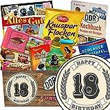 18. Geburtstagsgeschenk | Schokoladen Paket | Geschenk Ideen | 18 Hochzeitstag Geschenk | Schokoladenbox