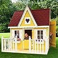 Promadino Set Spielhaus Schwalbennest mit Veranda von Promadino - Du und dein Garten