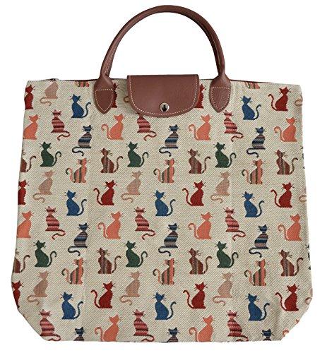 Tapisserie Damen Wegpackbare Einkaufstasche im Signare stil ...