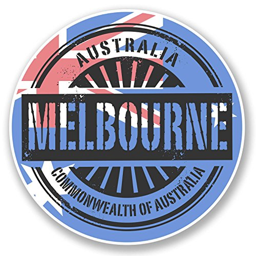 2-x-10cm-melbourne-australia-vinyl-sticker-decal-laptop-travel-luggage-tag-6114-10cm-x-10cm