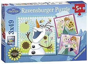 Disney Frozen - Puzzle, 3 x 49 Piezas (Ravensburger 09245 1)