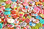 Pack of 50g Over 100pcs Buttons- Mixe...