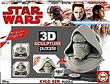 Star Wars Dibujos Animados y cómic 3D Sculpture Puzzle Kylo Ren Color...