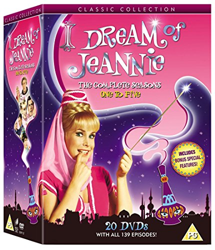 I Dream of Jeannie - The Complete Series 1-5 [20 DVDs] [UK Import]