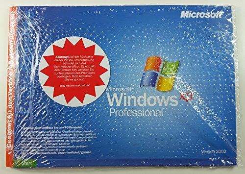 Microsoft Windows XP professional SP 3 deutsch 32 BIT
