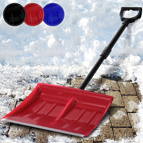 Jago snf01 Aluminium Folding Snow Shovel Red