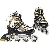 Nils Extreme Inlineskates rolschaatsen # verstelbaar inline skates sport meisjes & jongens & dames & heren NA1123A