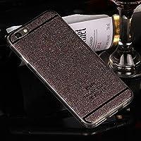 CORST ultra mince Bling Tasche Luxus Kristall Protection, Glitzerfolie Schutzfolie pour Apple iPhone6Plus/6S plus NOIR