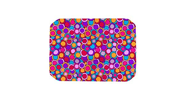 Kess InHouse Julia Grifol Simple Circles in Blue Table Runner