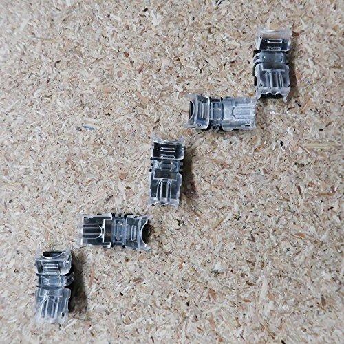 Alkan Prise d'alimentation de bornes de connexion pour couleur simple 2 LED bande de 8 mm, emballage IP65 (5 pièces)
