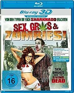 Sex, Gras & Zombies! [3D Blu-ray]
