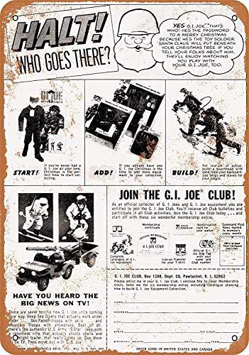 he G.I. Joe Club Blechschild Metall dekorative Wand Poster Souvenir ()