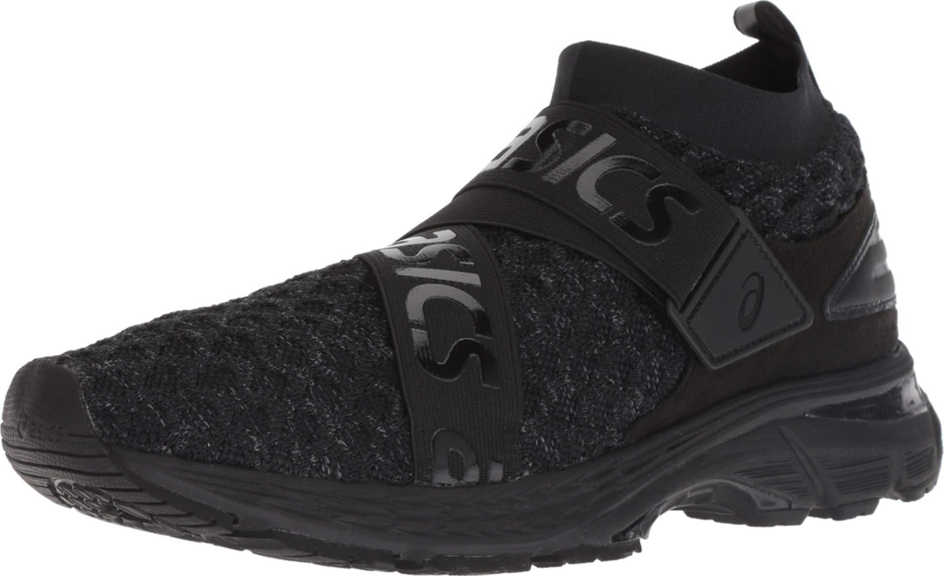 61fEMDeDl0L - ASICS Mens Gel-Kayano 25 Obistag Black/Carbon Running Shoe - 9