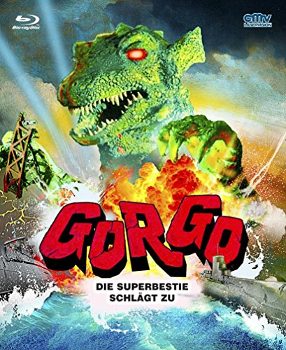 GORGO - DIE SUPERBESTIE SCHLÄGT ZU Limited Edition im Mediabook Format Blu-Ray Cover B (Godzilla Collection Blu-ray)