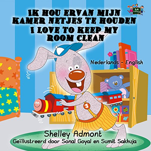 I Love to Keep My Room Clean (Dutch English Bilingual Collection) (Dutch Edition) por Shelley Admont
