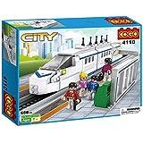 Babytintin™ Cogo City Train Brick Blocks Educational Toys High-speed Train Building Blocks For Children 558 PCs