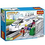 #7: Babytintin™ Cogo City Train Brick Blocks Educational Toys High-speed Train Building Blocks for Children 558 PCs