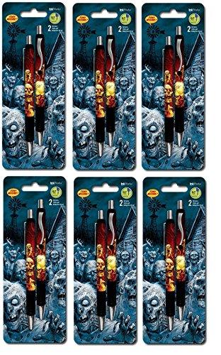 The Walking Dead zombic Comic Künstler Tony Moore Gelschreiber 0,7mm, schwarz, 12Stück