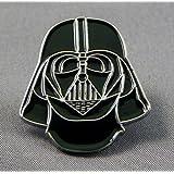 Pin de metal esmaltado, diseño de Darth Vader de Star Wars