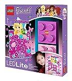 LEGO Friends Wandlicht - Stephanie, circa 8 x 8 cm IQ40291