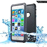 3a17130c68a Dailylux Funda impermeable iPhone 6s Plus Funda para iPhone 6 Plus  protectora IP68 Certificado con Touch