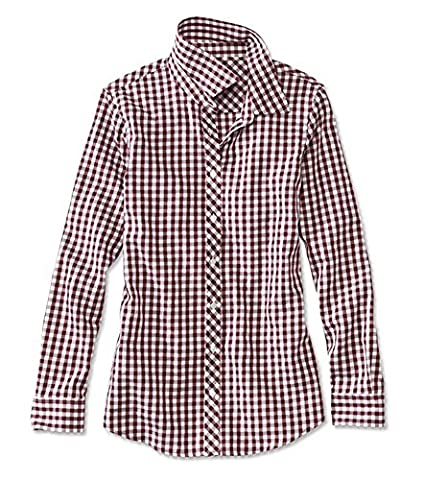 Orvis Wrinkle-free Checked Cotton Twill Shirt / Wrinkle-resistant Checked Cotton-twill