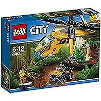 """LEGO UK 60158 """"Jungle Cargo Helicopter"""" Construction Toy"""