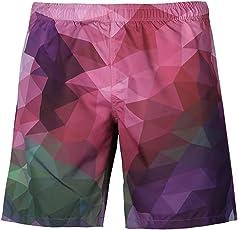 MOSE Short Summer Casual Plus Size 3D Printed Beach Shorts Pants