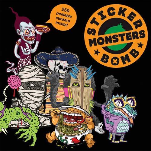 Stickerbomb Monsters par SRK (Studio Rarekwai)