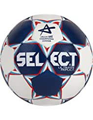 Balón de balonmano select ultimate Replica CL, blanco/azul/rojo, 1, 1670850203