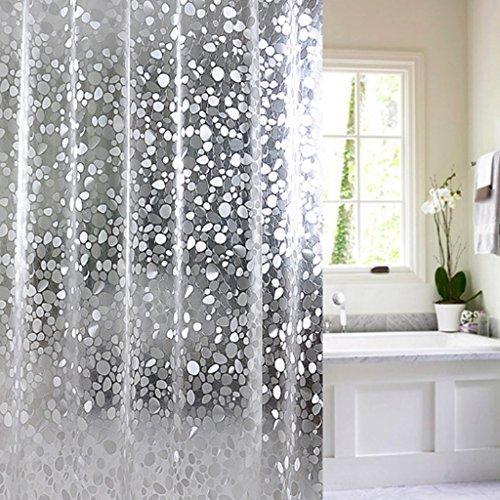 Rideaux de douche Rideau de douche EVA Matériel imperméable Salle de bains Hanging protection de l'environnement sans électricité statique Durable ( taille : 120×200CM )