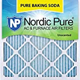 Nordic Pure 20x20x1PBS-3 Pure Baking Soda Air Filters (Quantity 3), 20 x 20 x 1 by Nordic Pure