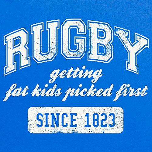 Rugby University T-Shirt, Damen Royalblau