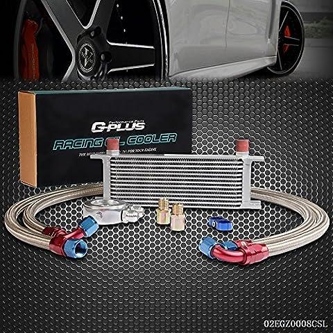 speedmotor 13Fila AN10Universal Engina para aceite de transmisión + adaptador de filtro Kit