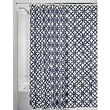 Best Croscill cortina de la ducha - InterDesign Trellis Cortinas de baño de tela   Review