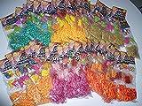 Loom Mega Set 9600 Loom Ringe + 2800 Perlen + 192 Anhänger + Verschlüsse (Preis gilt für alle 48 Packungen !!)