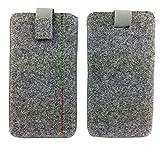 5,0'' Filztasche Tasche Hülle aus Filz für Sony X Compact