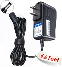 T-Power 9vdc ( 6.6ft Long Cable ) AC Adapter For Casio Piano Keyboard AD-5 AD-5MU AD5MU AD-5MLE AD-5GL AD5GL TC1 #1035 ( CTK , CA, MA, HT, LK, CT, Series ) power supply cord charger
