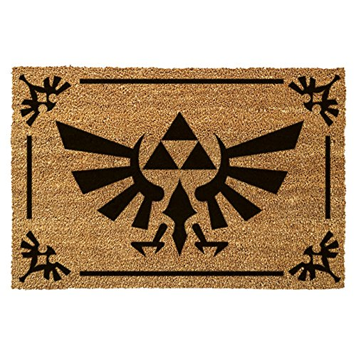 Zelda Triforce logotipo estera felpudo 60x40cm color