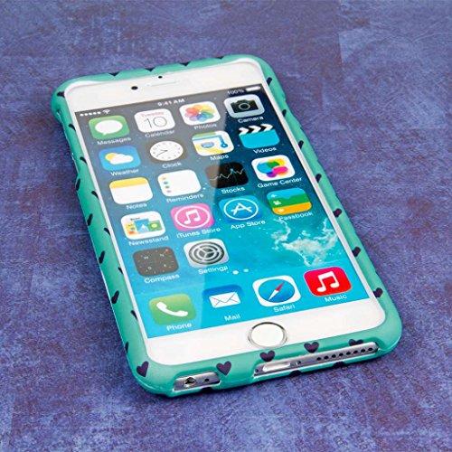 "MPERO SNAPZ Series Glossy Case Custodia per Apple iPhone 6 Plus 5.5"" - White Paint Splatter You Mint My Heart Beat, SNAPZ"