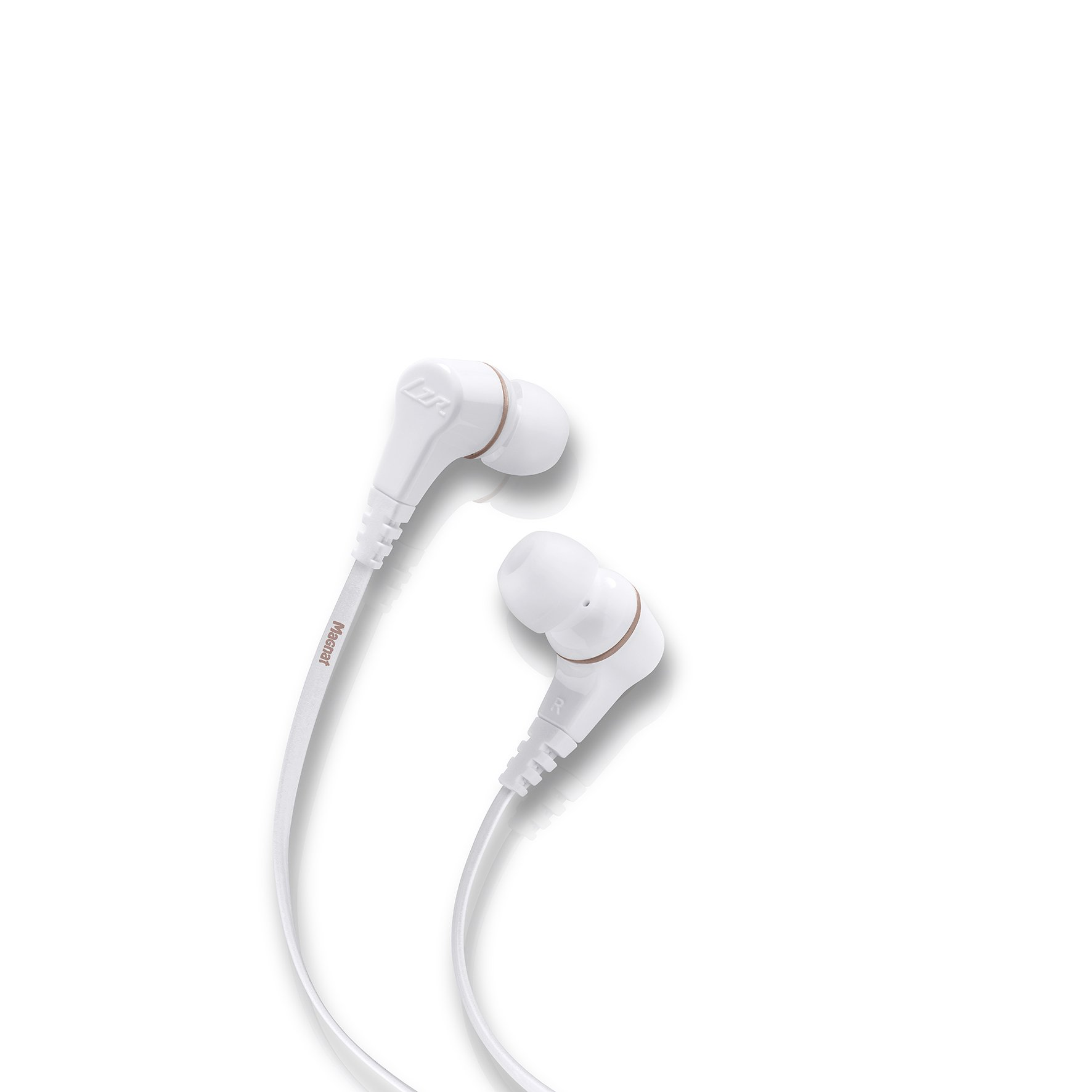 Magnat LZR 180554 340 High Performance Auricolari In-Ear Bianco/rame