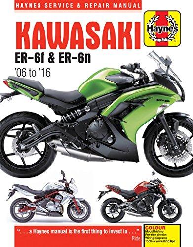Kawasaki Er-6F & Er-6N (06 - 16) (Haynes Service and Repair Manual) por Phil Mather