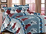 Mee Pra Floral king size Double bedsheet...