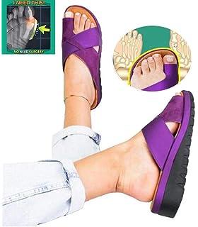 Ouneed Frauen Plattform Sandale Pailletten Schuhe Mit