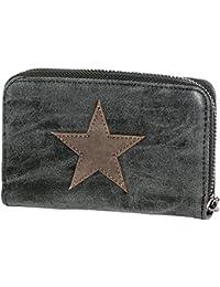 e1fe7ea1811da1 Gadzo® Damen Geldbörse klein Stern geldbörse Karten geldbörse Vintage  Geldbeutel Portemonnaie GUS09